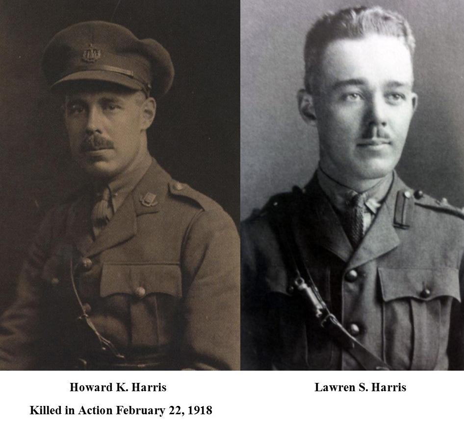 Howard K. Harris and Lawren S. Harris.  Lawren Harris Week, Brantford, Ontario