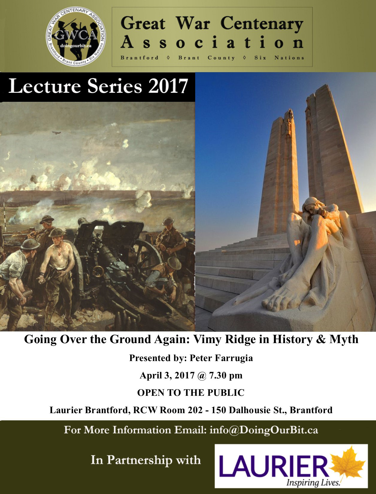 Vimy Ridge in History and Myth - Peter Farrugia Doing our Bit