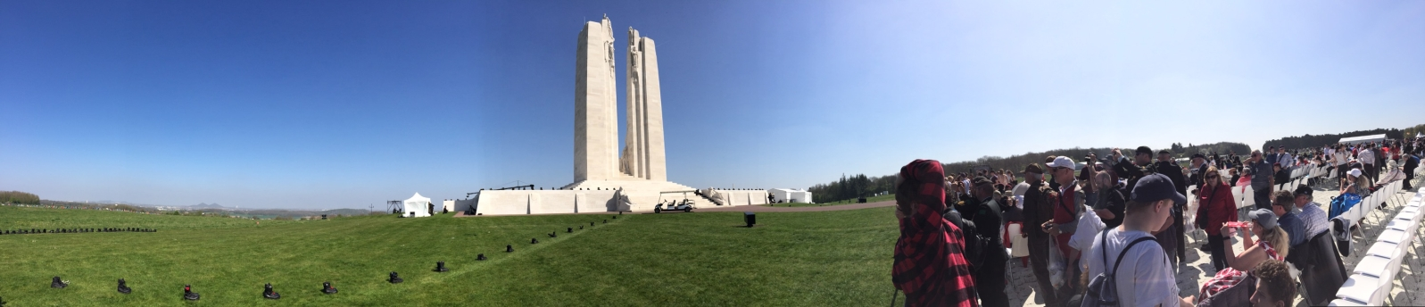 Canadian National Vimy Memorial - April 9, 1917 - Image Courtesy of MWO Chris Chaban