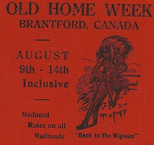 Old Home Week - Brantford WWI history