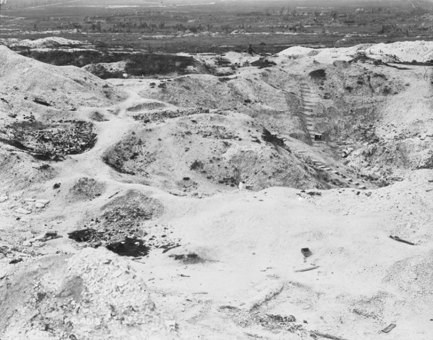 WWI - Quarry Headquarters at Hill 70