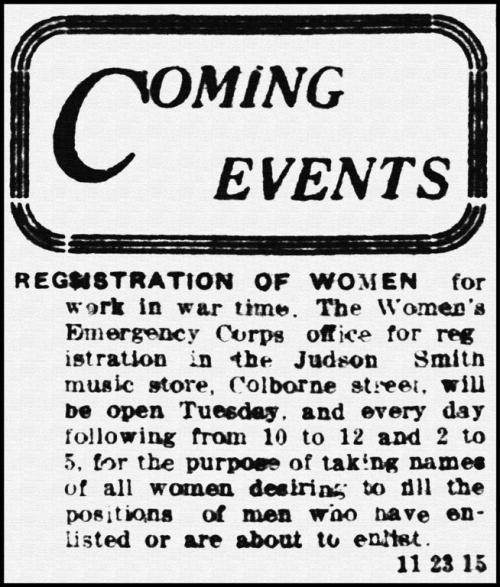 Brantford WWI headline March 14th, 1916