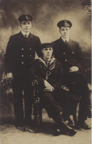Lew Feely of HMS Niobe